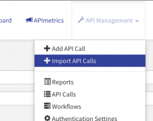 Import API Calls