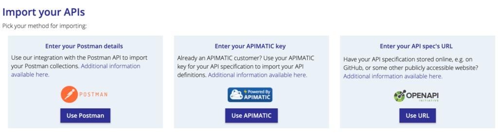 API Importer Postman